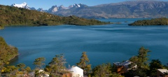 Patagonia Camp - lake Toro view