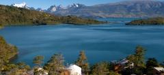Patagonia Camp - lake Toro view