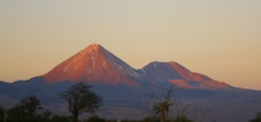 Volcanoes in the Atacama Desert