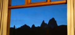 Hosteria Senderos - The view