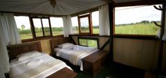 Galapagos Magic Camp - Treehouse accommodation internal