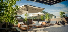 The Singular Santiago Lastarria Hotel - Rooftop Terrace