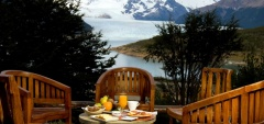 Hosteria Los Notros - Glacier view