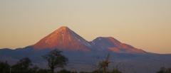 Volcanoes in the Atacama Desert