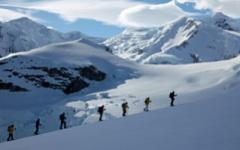 Skiing Antarctica