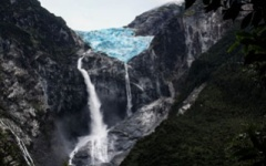 Queulat Hanging Glacier